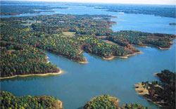 About the blueway southern virginia wild blueway for Kerr lake fishing hot spots